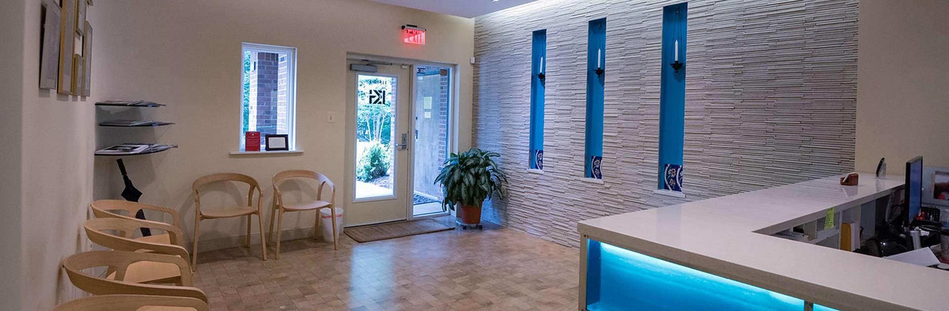 orthodontic waiting room